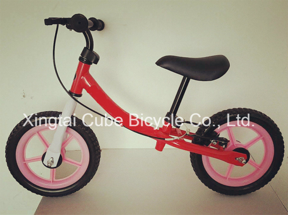 Factory Direct Sell Children Bicycle Kids Balance Bike with V Brake