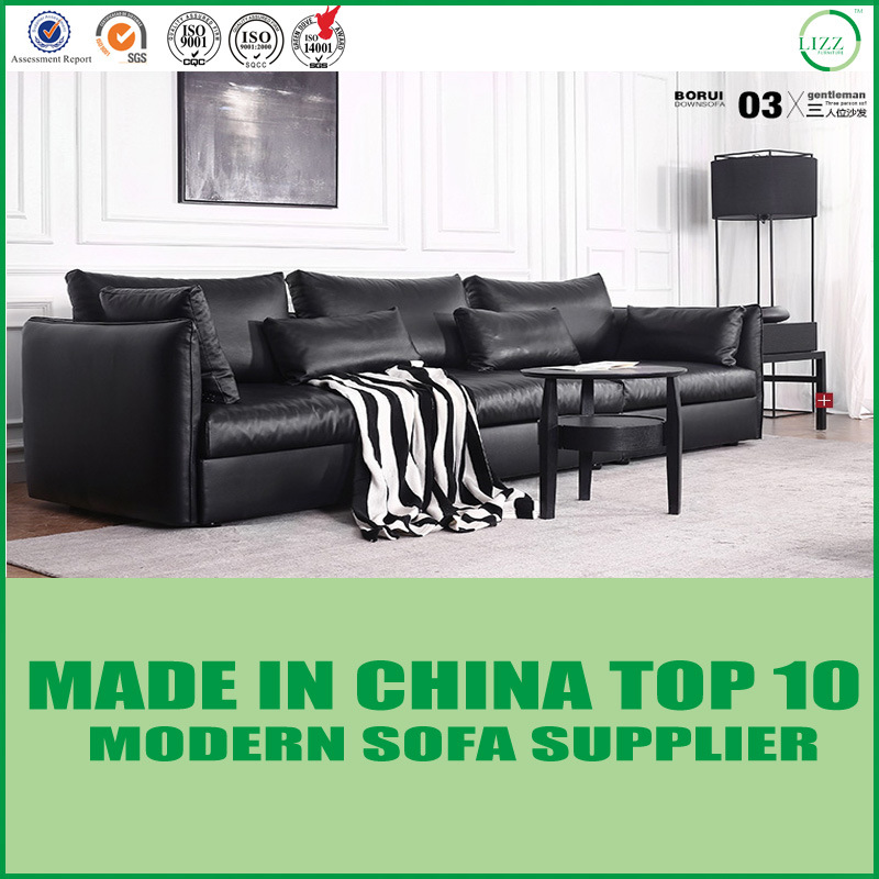 China Nordic Modern Classic Sofa Leather Sofa Garden Furniture ...