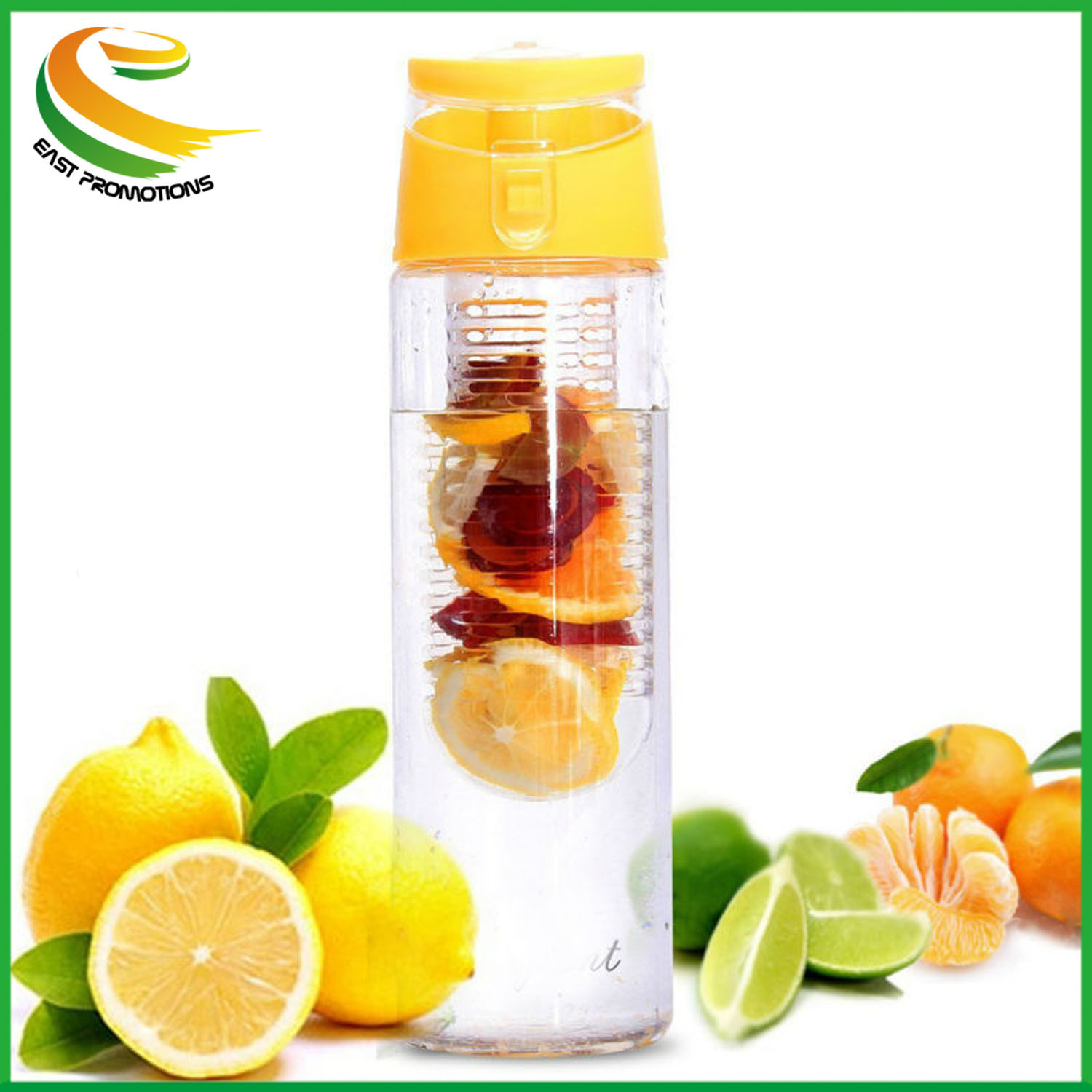 China 700ml Bpa Free New Arrival Tritan Fruit Infuser Water Bottle Infusd Drink Custom