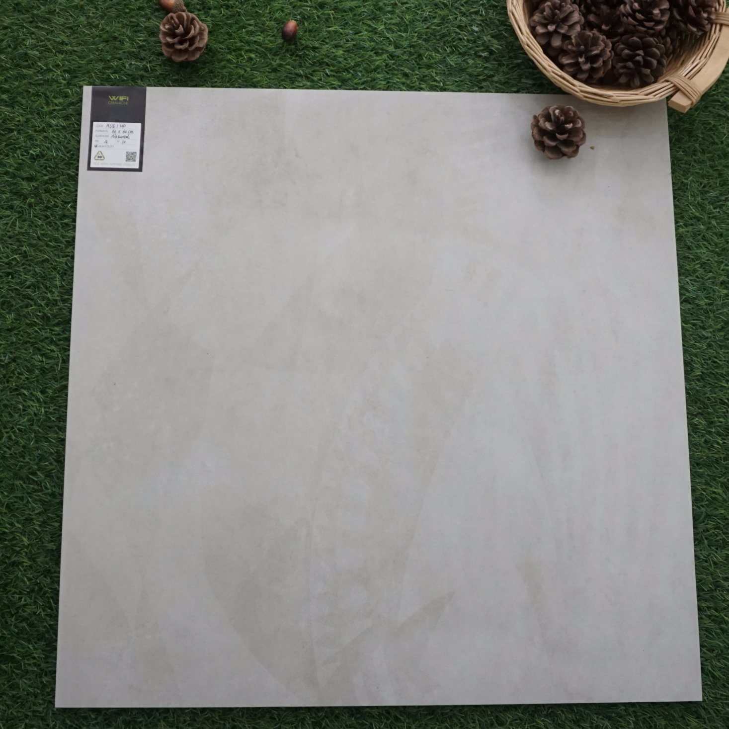China Italian Concept Concrete Tile Glazed Porcelain Tile Interior Ceramic