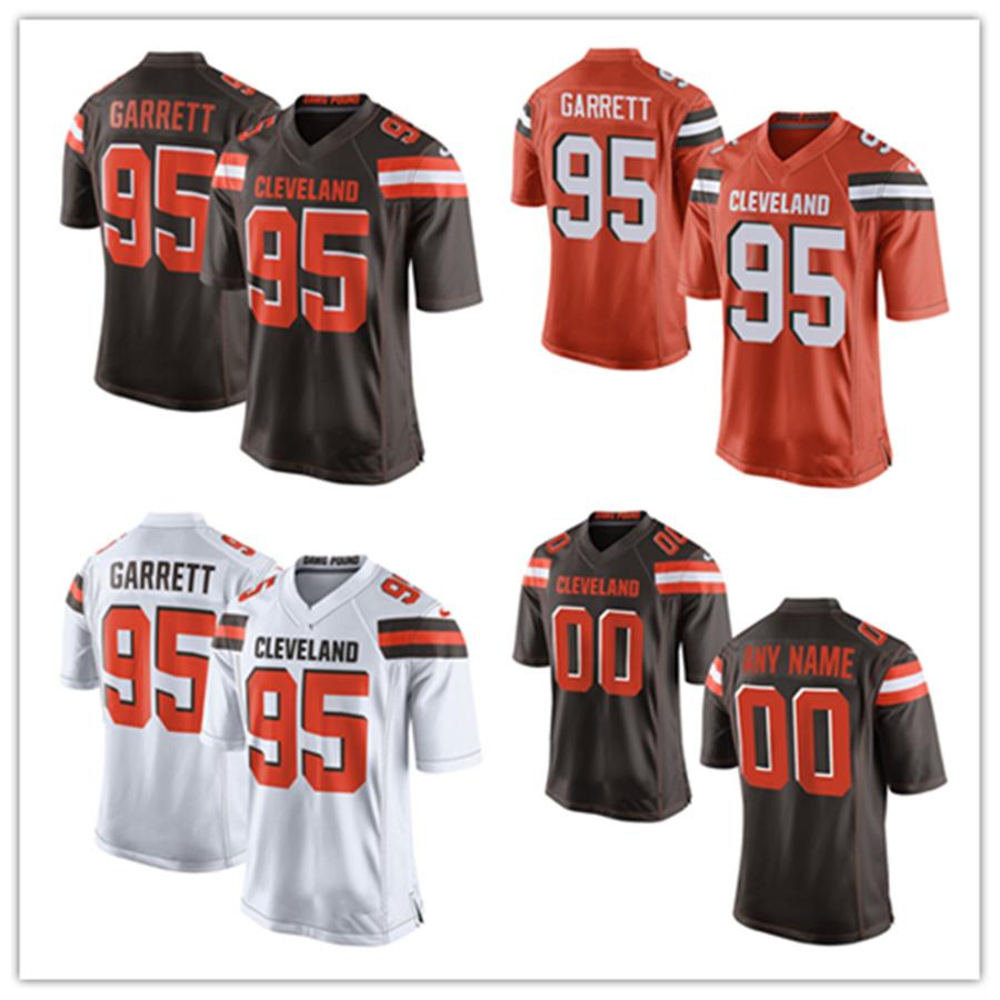 promo code efd7f 56f04 [Hot Item] Men Women Youth Browns Jerseys 95 Myles Garrett Football Jerseys