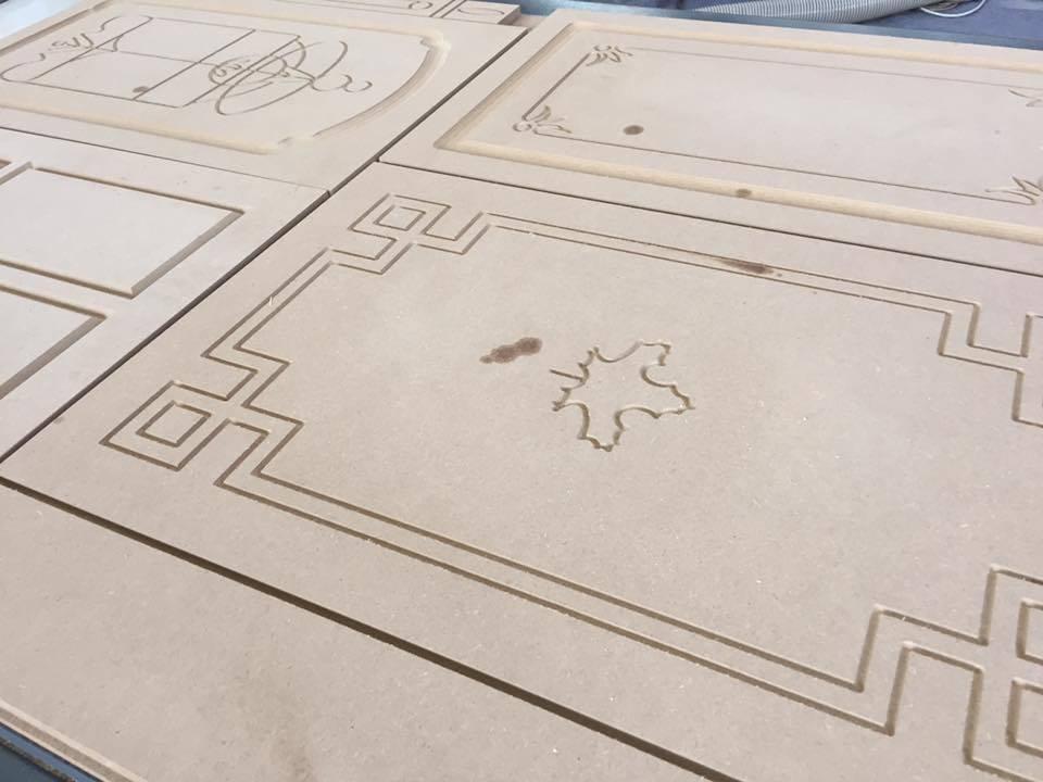 China Woodworking Brush Sanding Machine For Door Kitchen Cabinet