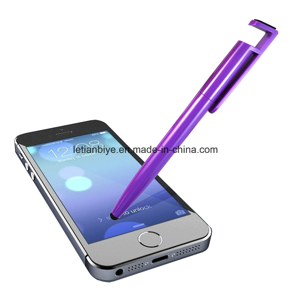 Stylus Pen with Mobile Phone Holder and Screen Cleaner (LT-C804) pictures & photos