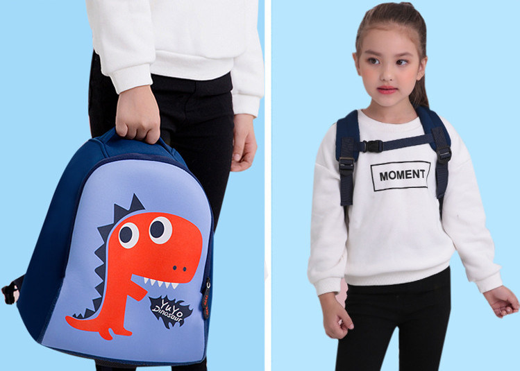 New Cartoon Baby Bag Customized Logo for Children   Boys′ Schoolbag  Kindergarten 1-3 Years Old Backpackx2 637c6a0375