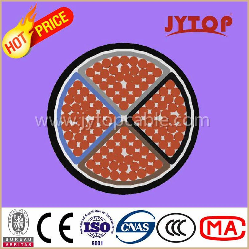 Nyy Cable Low Voltage PVC Insulation Housing Installation Copper Cable