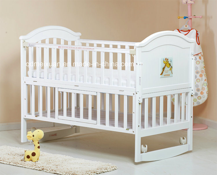 China Hot Selling Wooden Baby Crib Nice Style Baby Crib ...