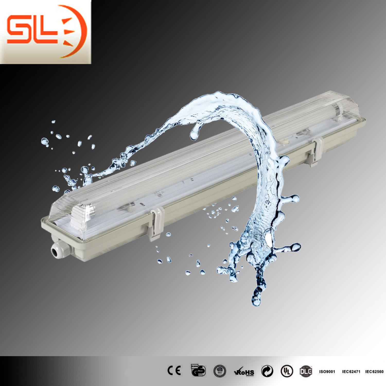 China Ip65 Outdoor Waterproof Light Fixture With T8 Fluorscent Lighting