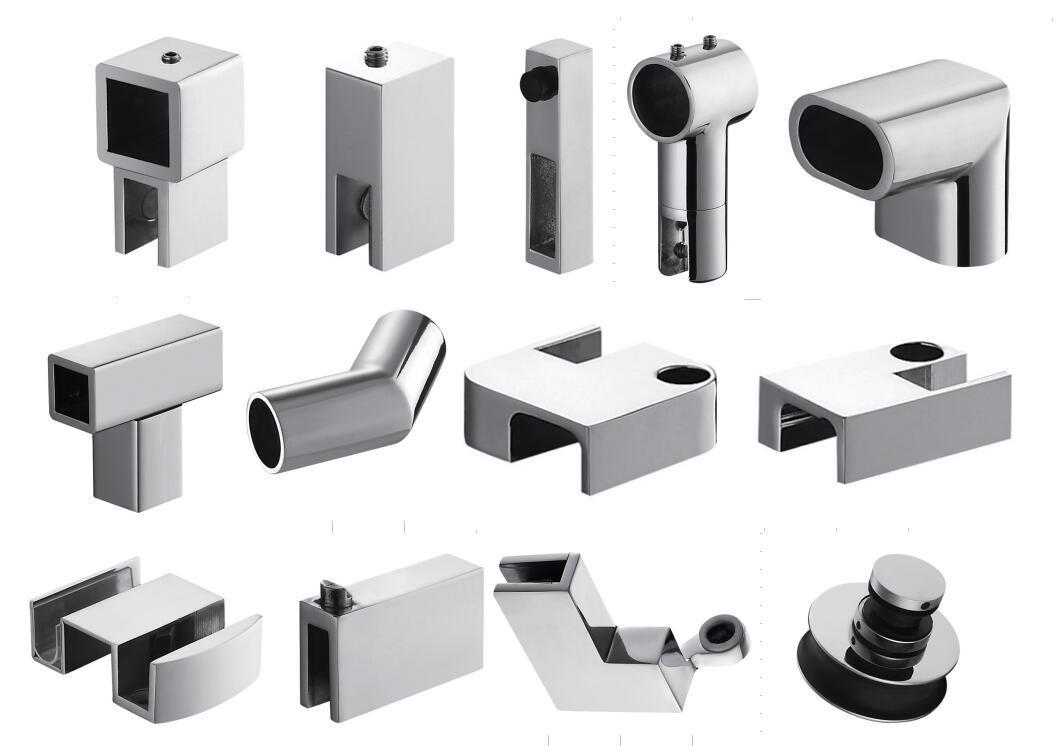 China Bathroom Accessories Aluminium Profile Shower Screen 1400~1800 ...