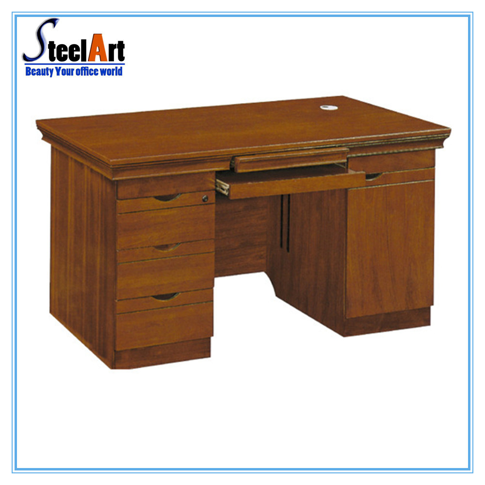 [Hot Item] Office Furniture Chep Price Wooden Computer Table