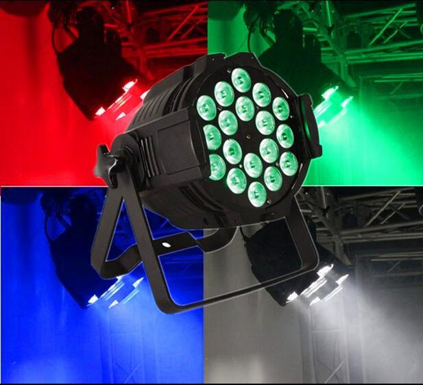 DMX512 18X18W Rgbwauv 6 in 1 DJ Club Party Effect Wedding Light PAR 64 LED PAR Can