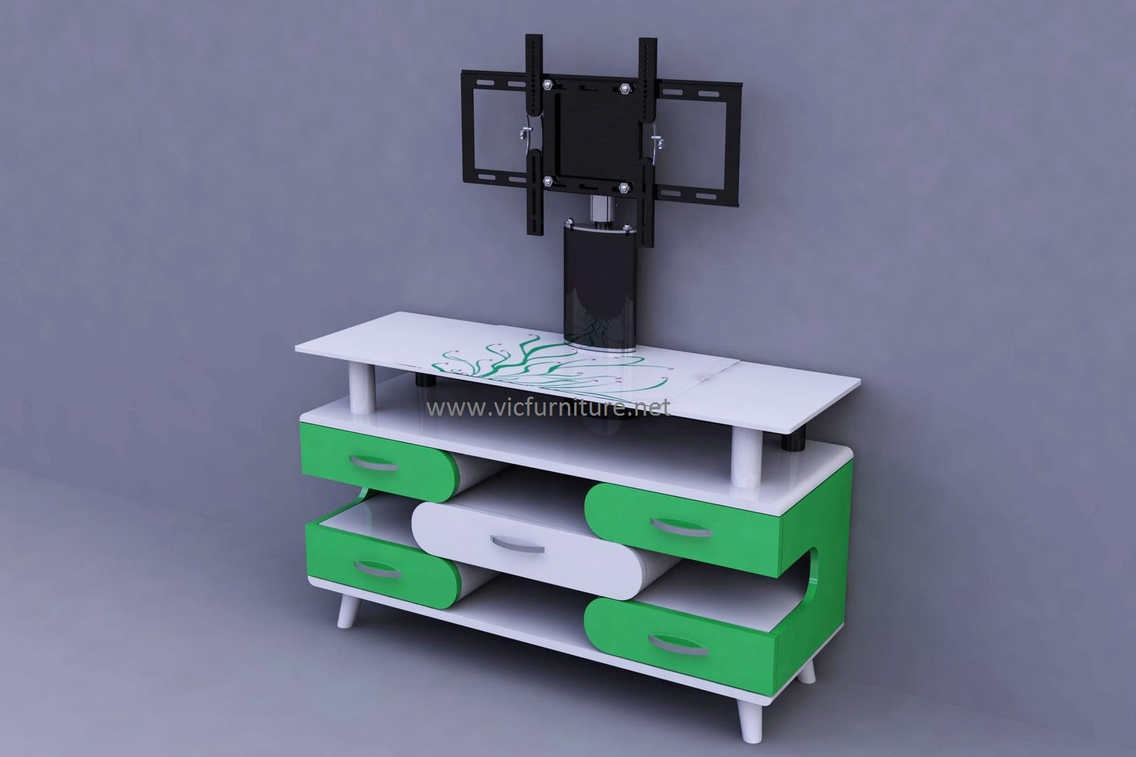 Tv Stand New Designs : China new design modern living room furniture for tv stand led rack