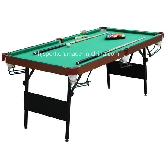 China Small Size Indoor Family Sport 6ft 7ft Folding Leg Snooker