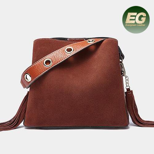 6fa17dde2db Genuine Leather Handbag Trendy Leather Bags Women Tote Bag Handbags  Emg5345. Get Latest Price