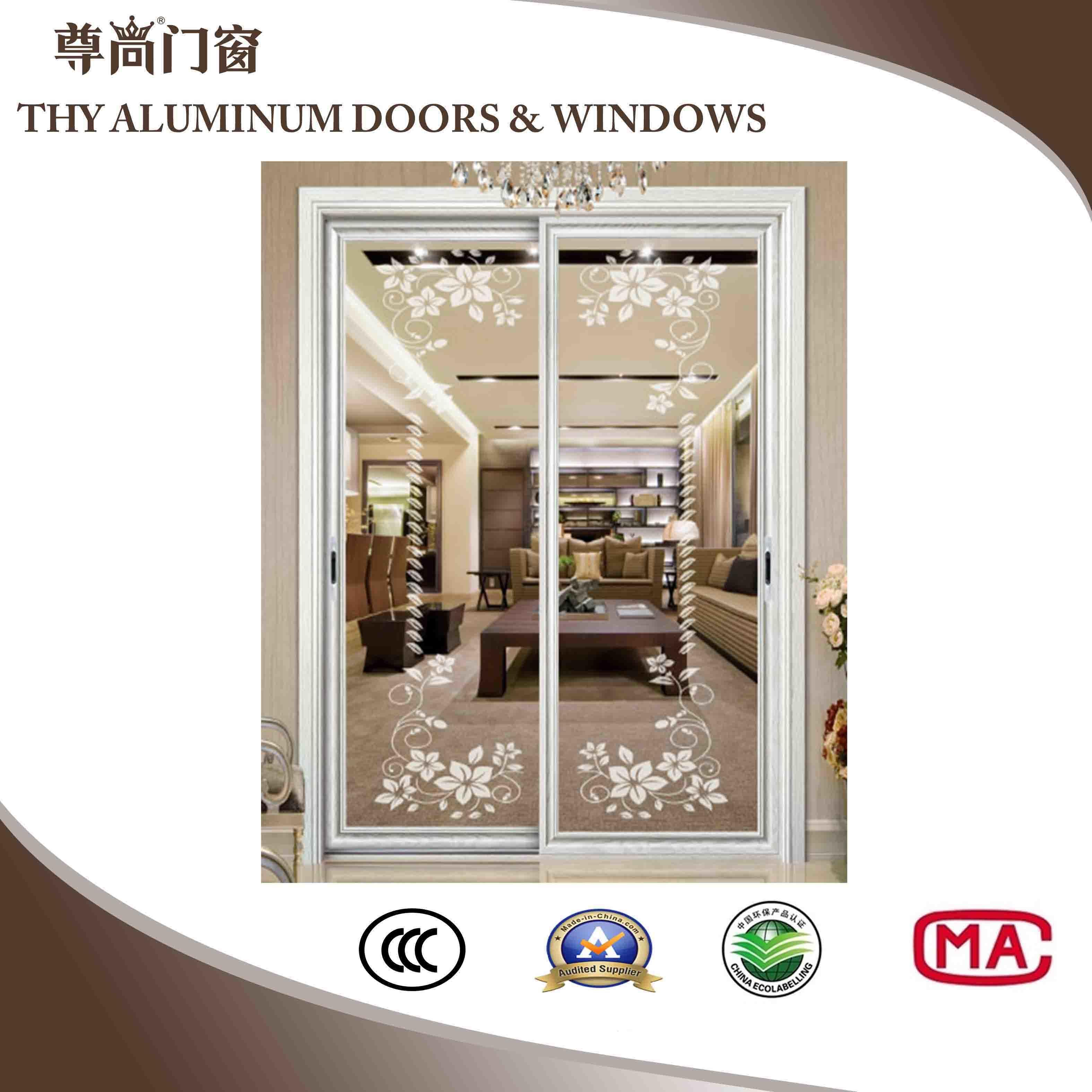 China Aluminum Interior Doors Exterior Doors Hanging Doors Sliding