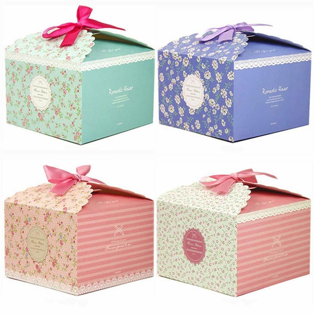 Hot Item Elegant Decorative Gift Box For Wedding Christmas Brithday Cake