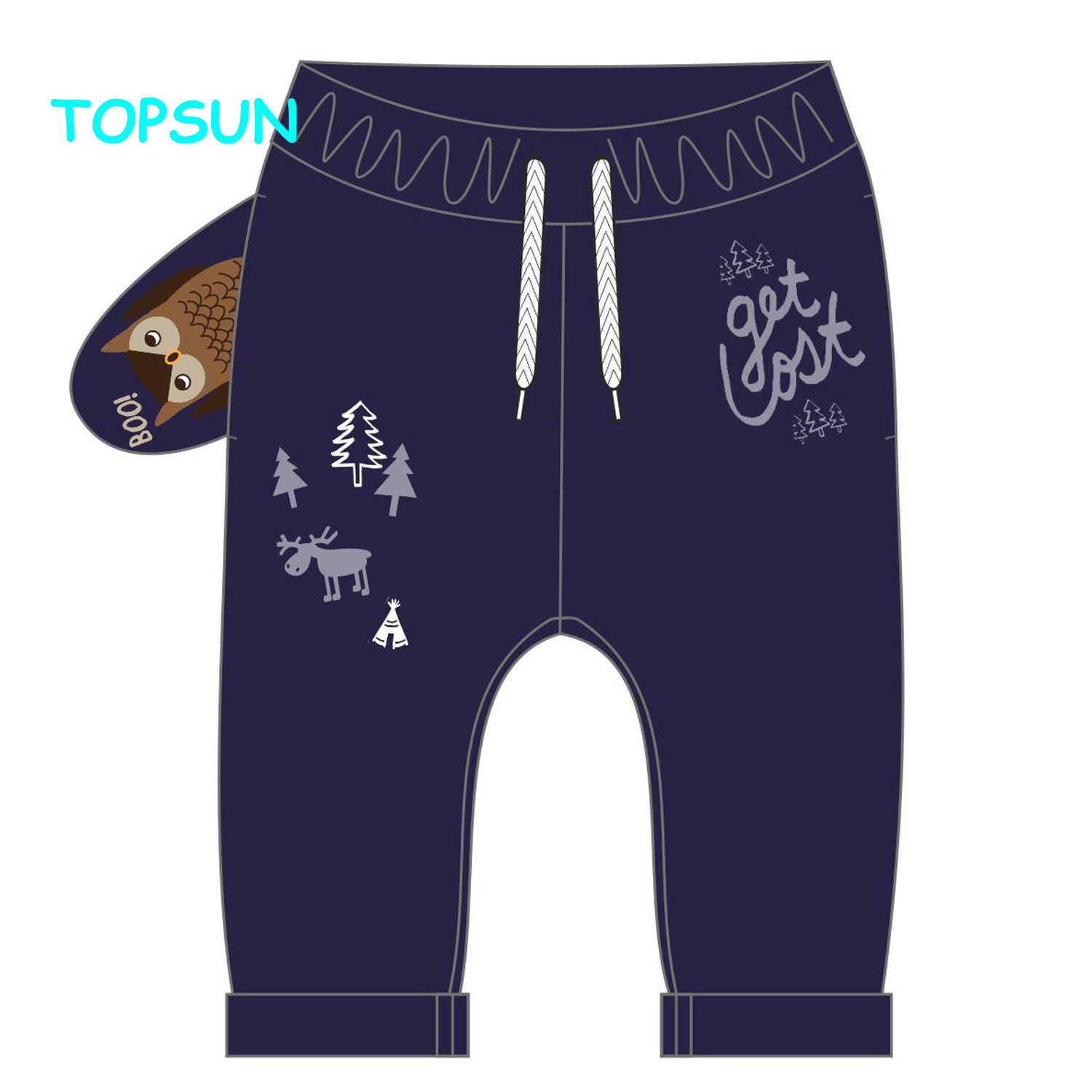 China Spring Autumn Baby Boys Pants Knit Fabric Cotton Leggings Solid Colors For Toddler 1 5 Years Old Photos Pictures Made In China Com
