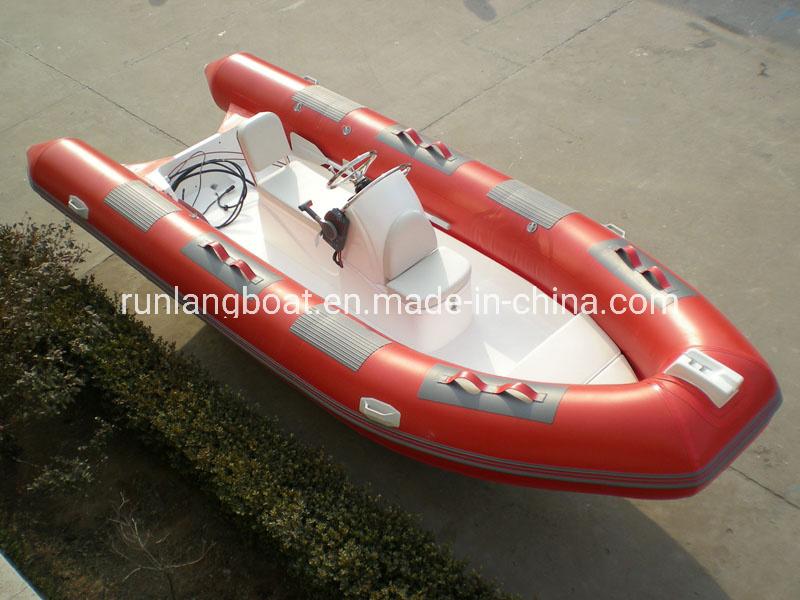 Wave Star 5m China Economic Rigid Inflatable Fishing Boat/Rib