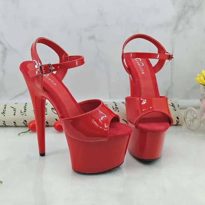 s Shoes Sandals Heel Height 17/7inch
