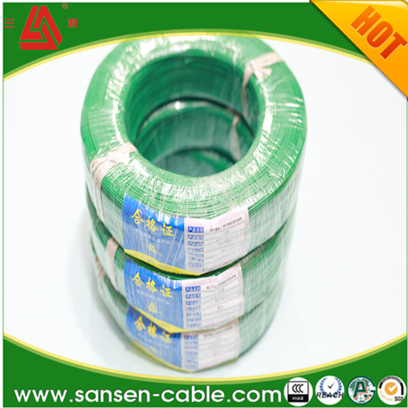 China H07V-K Hook up PVC Insulation Wire High Voltage Electric ...