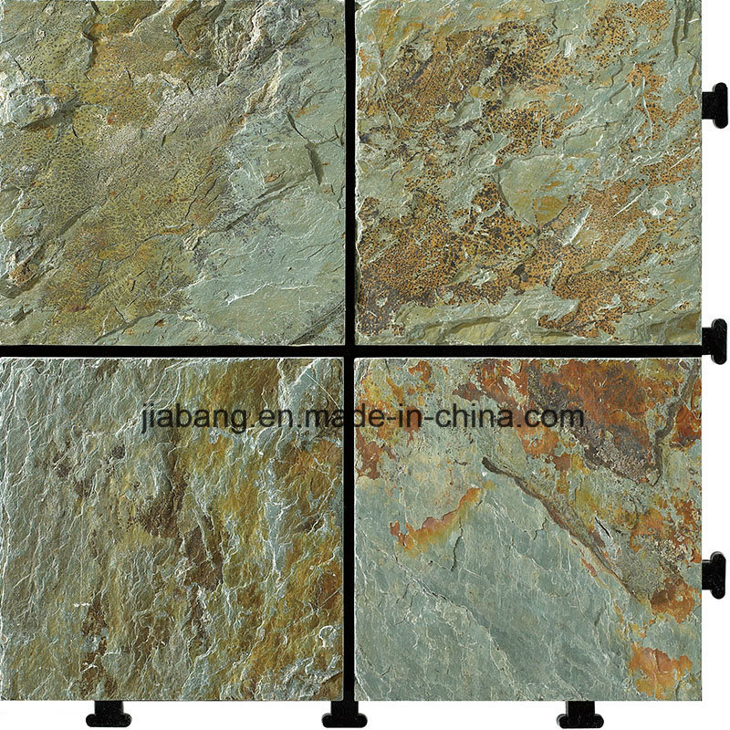 China Natural Slate Stone Removable Flooring Tile China Flooring