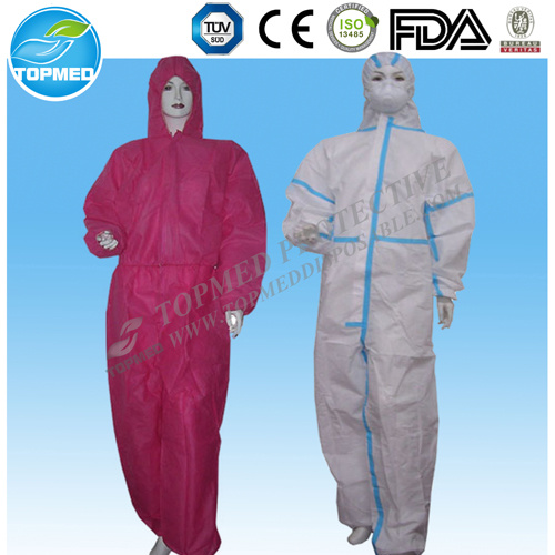 Disposable Coverall, Working Coverall, Safety Coverall, Nonwoven Overall