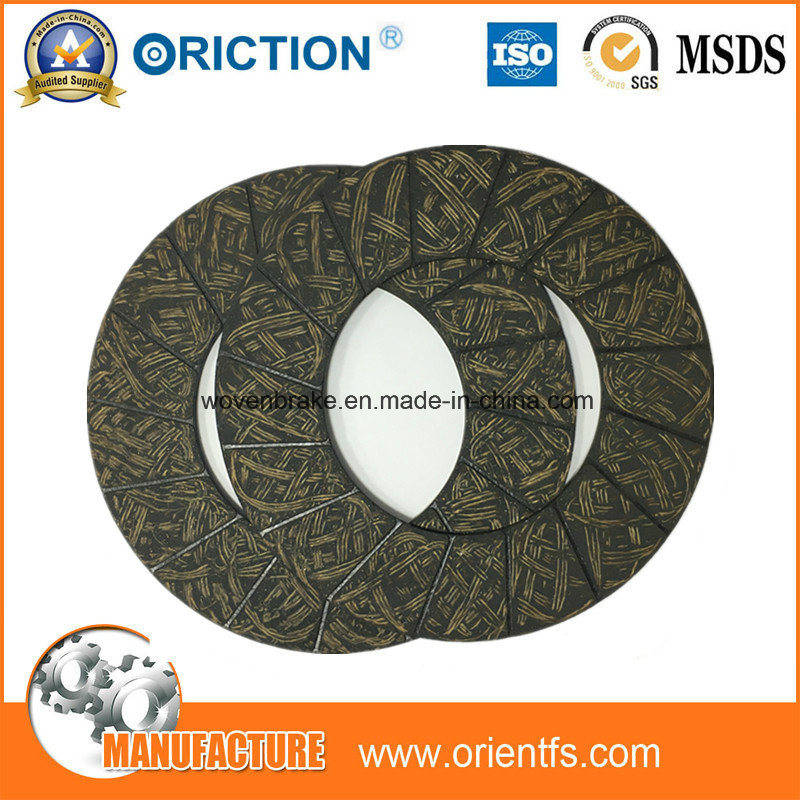 Oriction Friction Fiber Disc Material