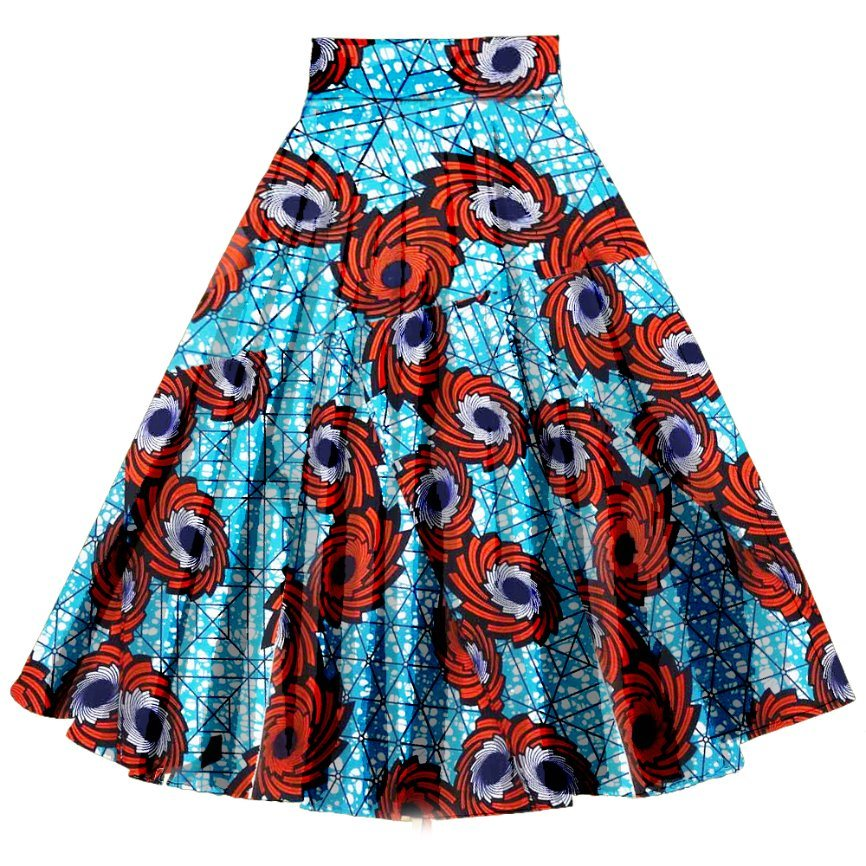 [Hot Item] Dropshipping Manufacturer High Quality Clothing African  Beautiful Skirts Low MOQ