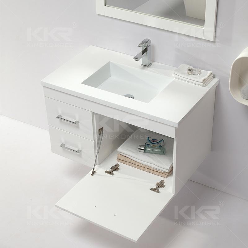 China Hot Sale Bathroom Furniture Washbasin, Cabinet Basin - China ...