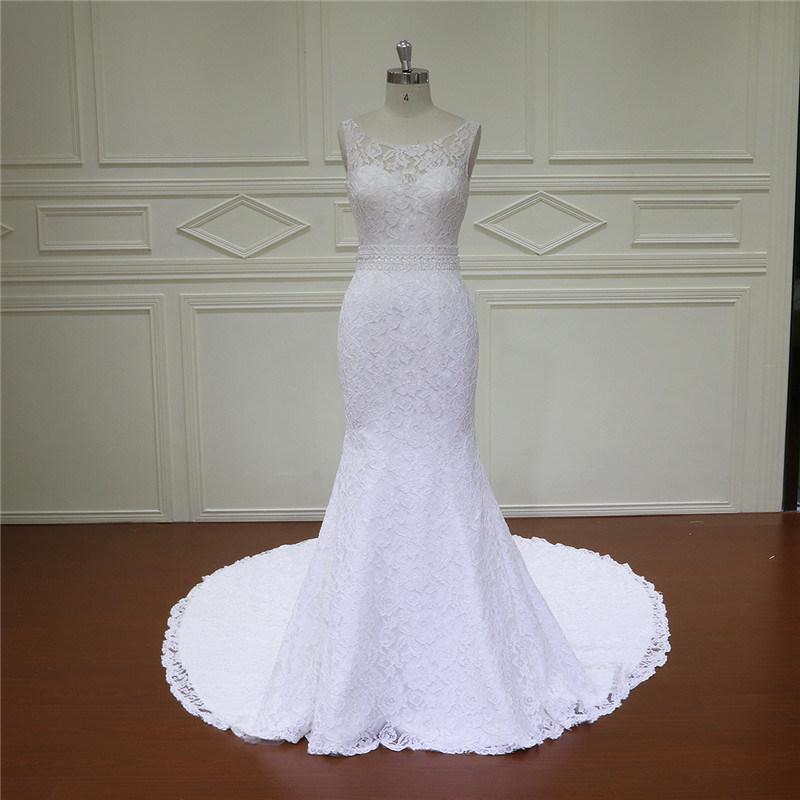 China Mermaid Bridal Gown Long Tail Bridal Dress 2017 - China ...