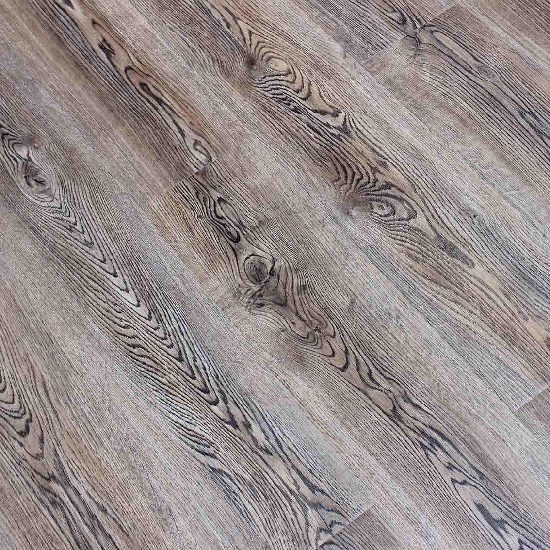 China 8mm Small Embossed Laminate Flooring With Waxed