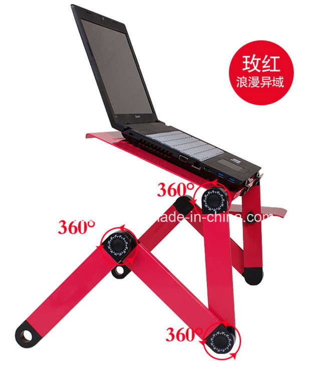 Portable Laptop Desk Stand Folding Computer Desk pictures & photos