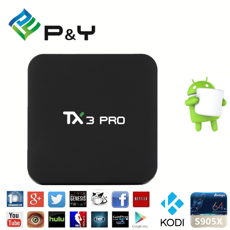 [Hot Item] Android HD Media Player Smart Box TV Tx3 PRO 4K 1g 8g Free IPTV  Kodi Download Smart Box Set Top Box WiFi