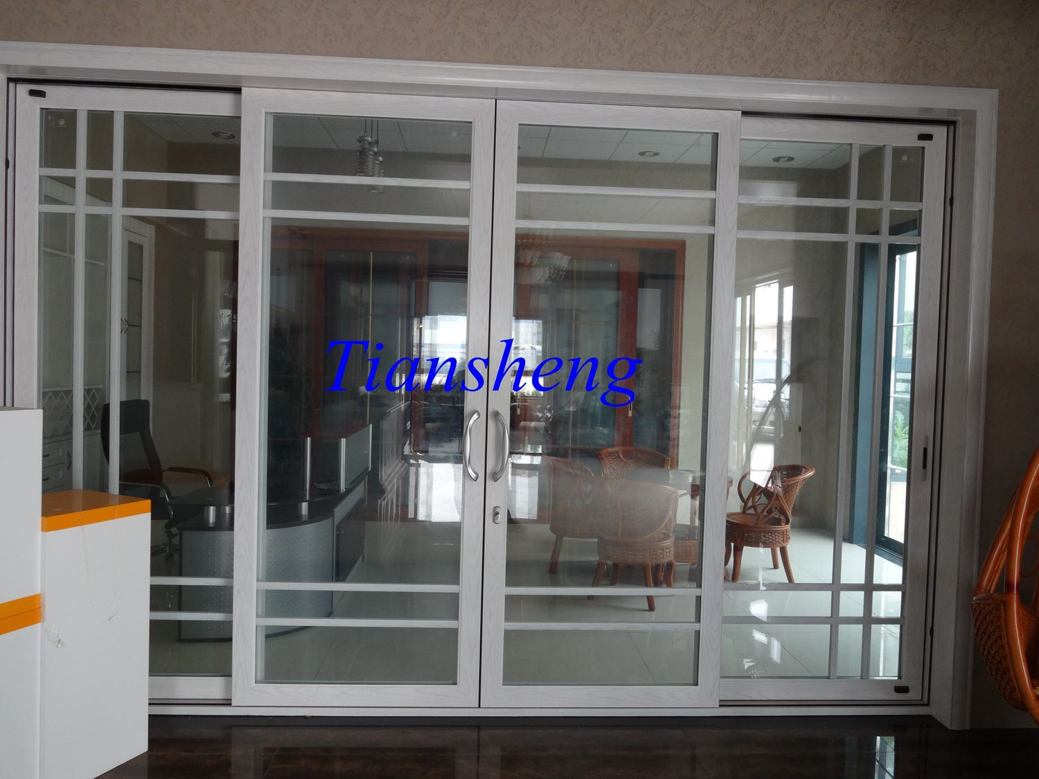 office sliding door. 120series Heavy Sliding Doors Office Partition Aluminum With Built-in Blinds Door L