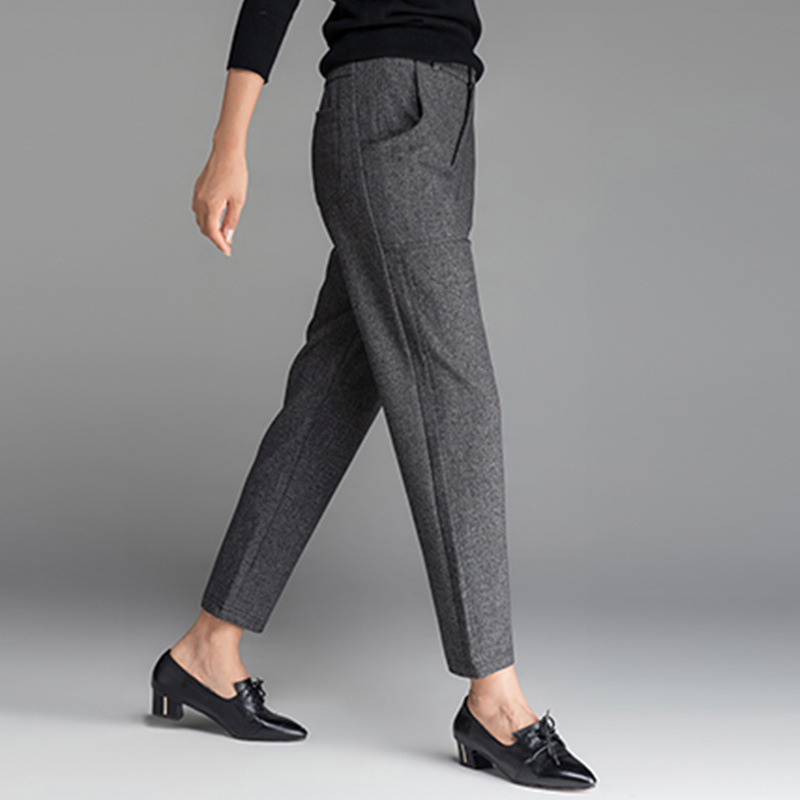 b26a408be95 China Women′s European Wind Fall and Winter Slim Fit Pants - China Pants  Women Ladies, Design Ladies Pants