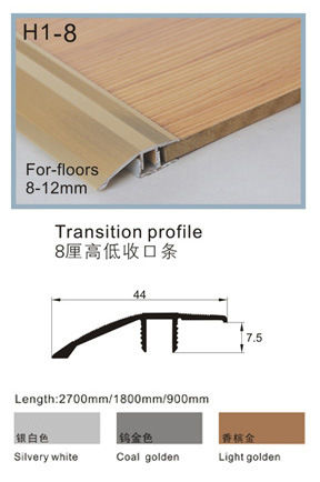 China Aluminium Flooring Transitions, Transition Trim For Laminate Flooring