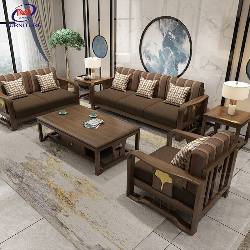 China Living Room Furniture Luxury, Wooden Living Room Furniture Sets