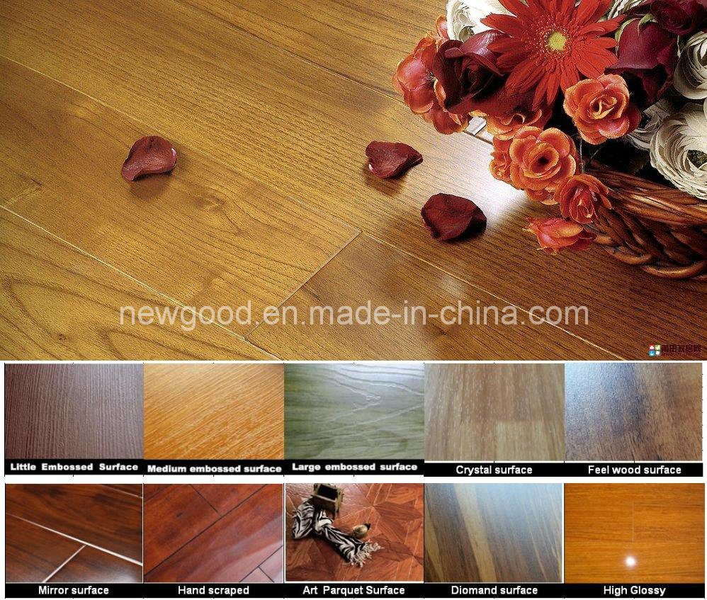 China 8mm 12mm Ac3 Ac4 Grade Laminate Flooring Laminated Wood Wooden Parquet