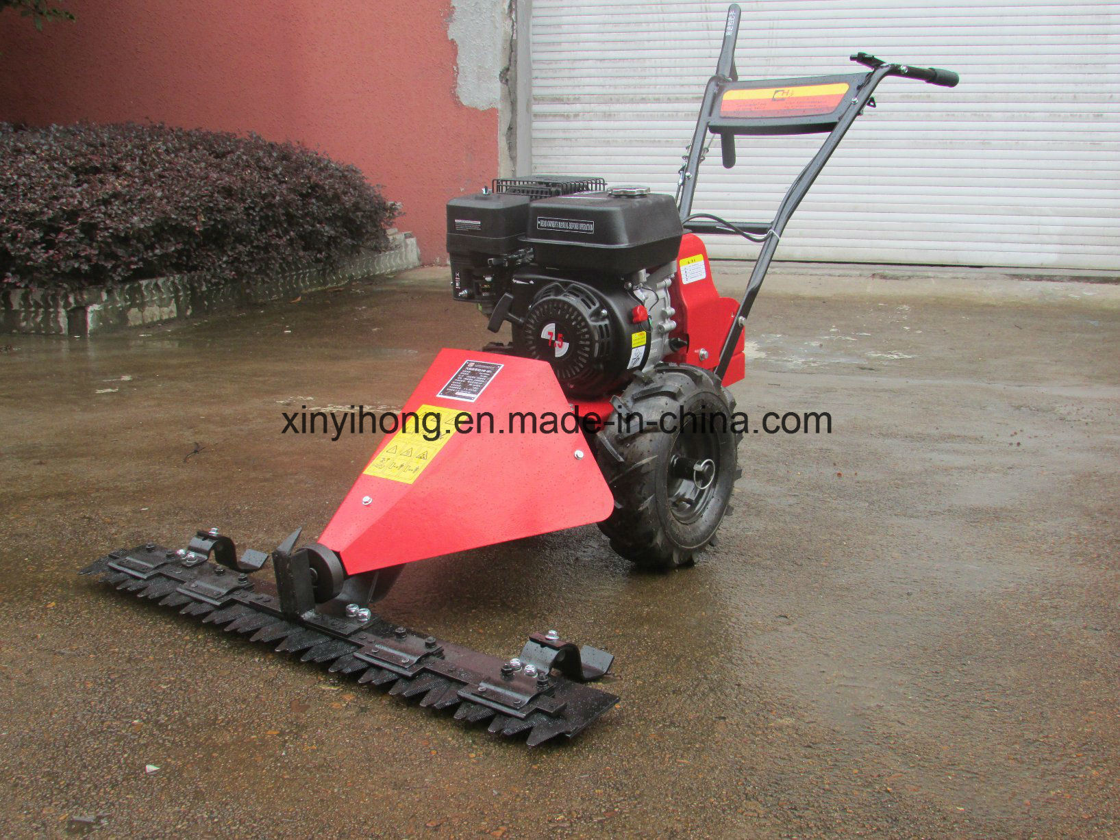 Gasoline 6.5HP Scythe Mower with 800mm Cutter