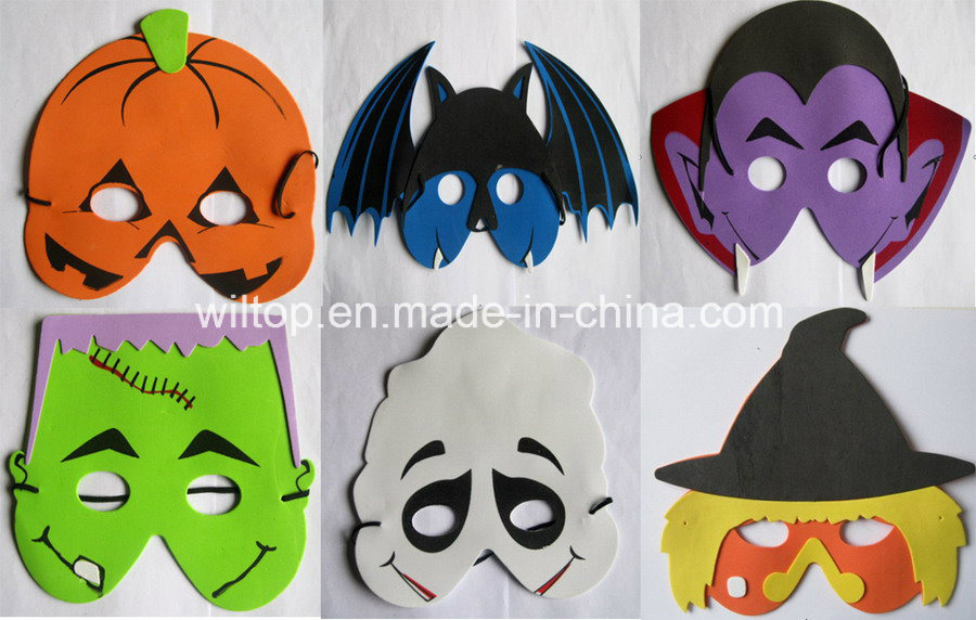 Halloween Assorted EVA Spooky Masks (PM134)