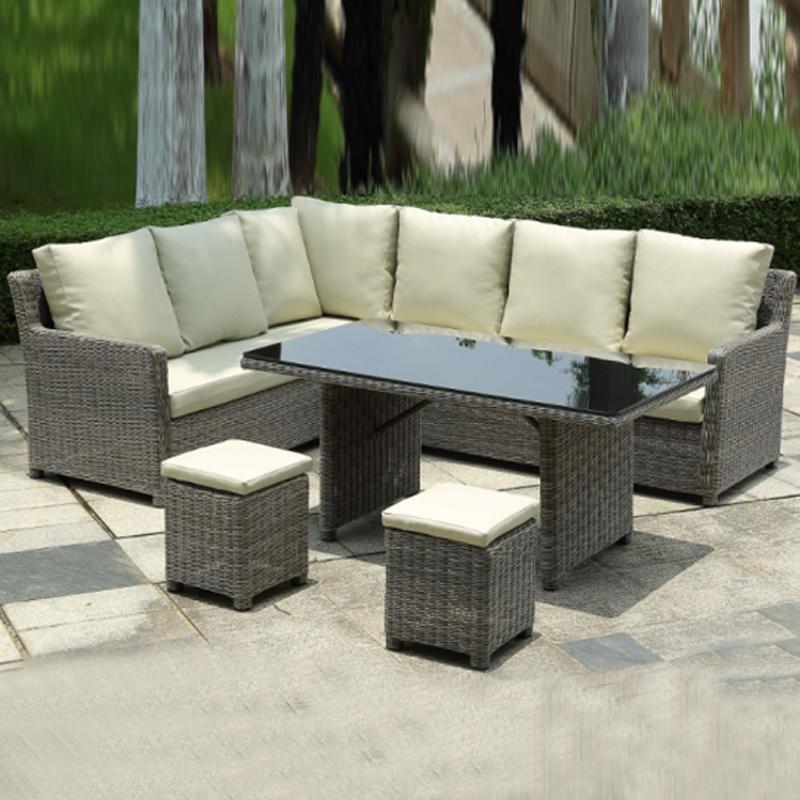 Marvelous Hot Item Top Quality Synthetic Rattan Outdoor Garden Furniture Corner Sofa Set Alphanode Cool Chair Designs And Ideas Alphanodeonline