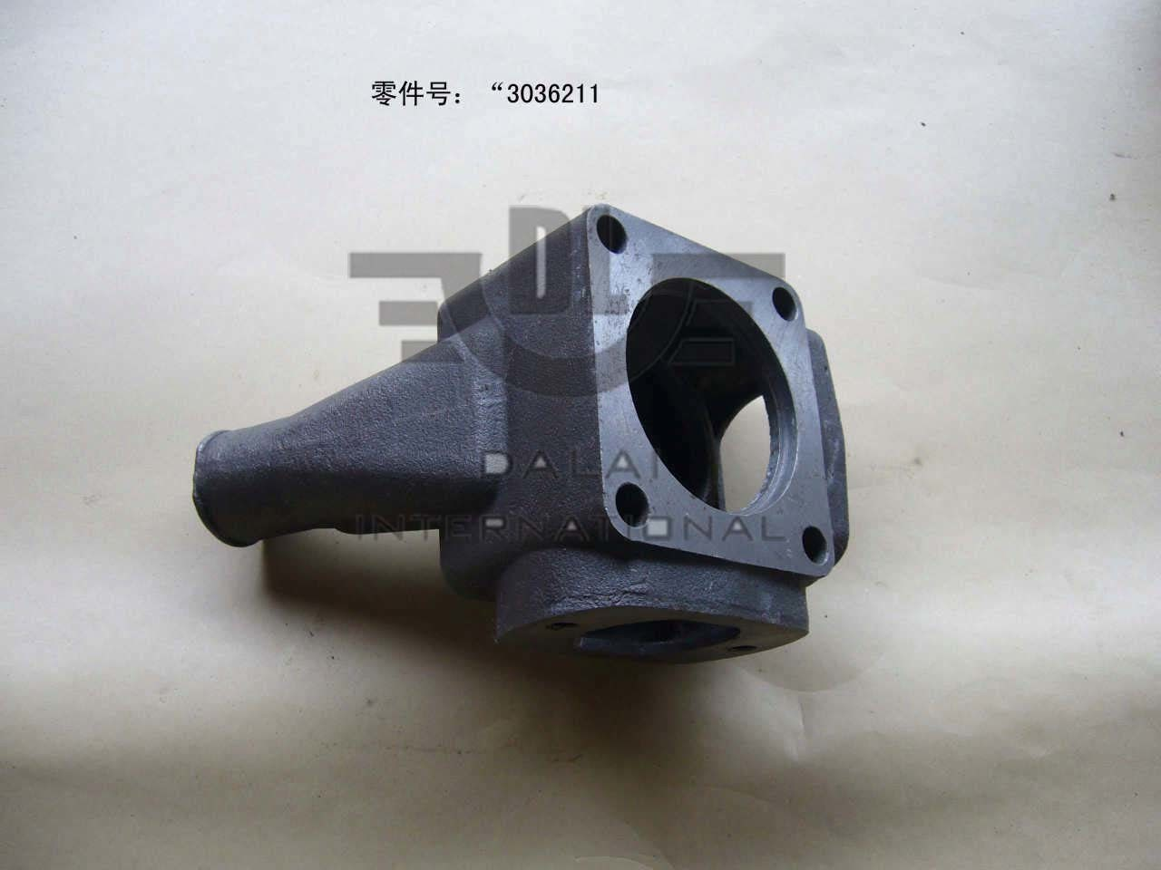 NT855 Dongfeng Cummins Thermostat Housing