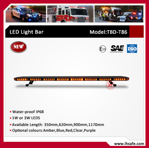 Ultrathin Aluminum LED Emergency Warning Light Bar (TBD-T86) pictures & photos
