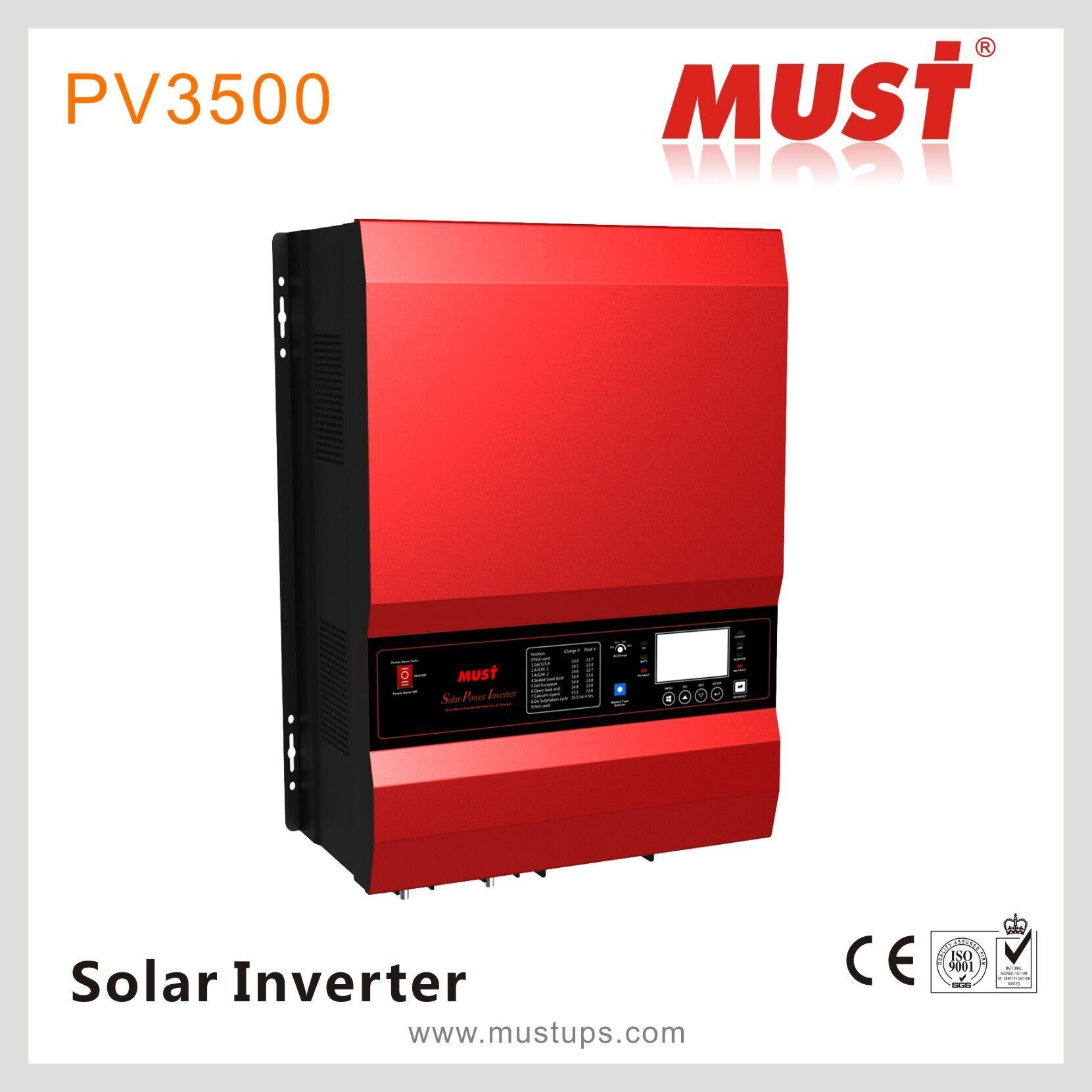 China High Capacity 15kva Hybrid Low Frequency Solar Inverter 48v Battery Charger Circuit With Cutoff Priority 12v 24v