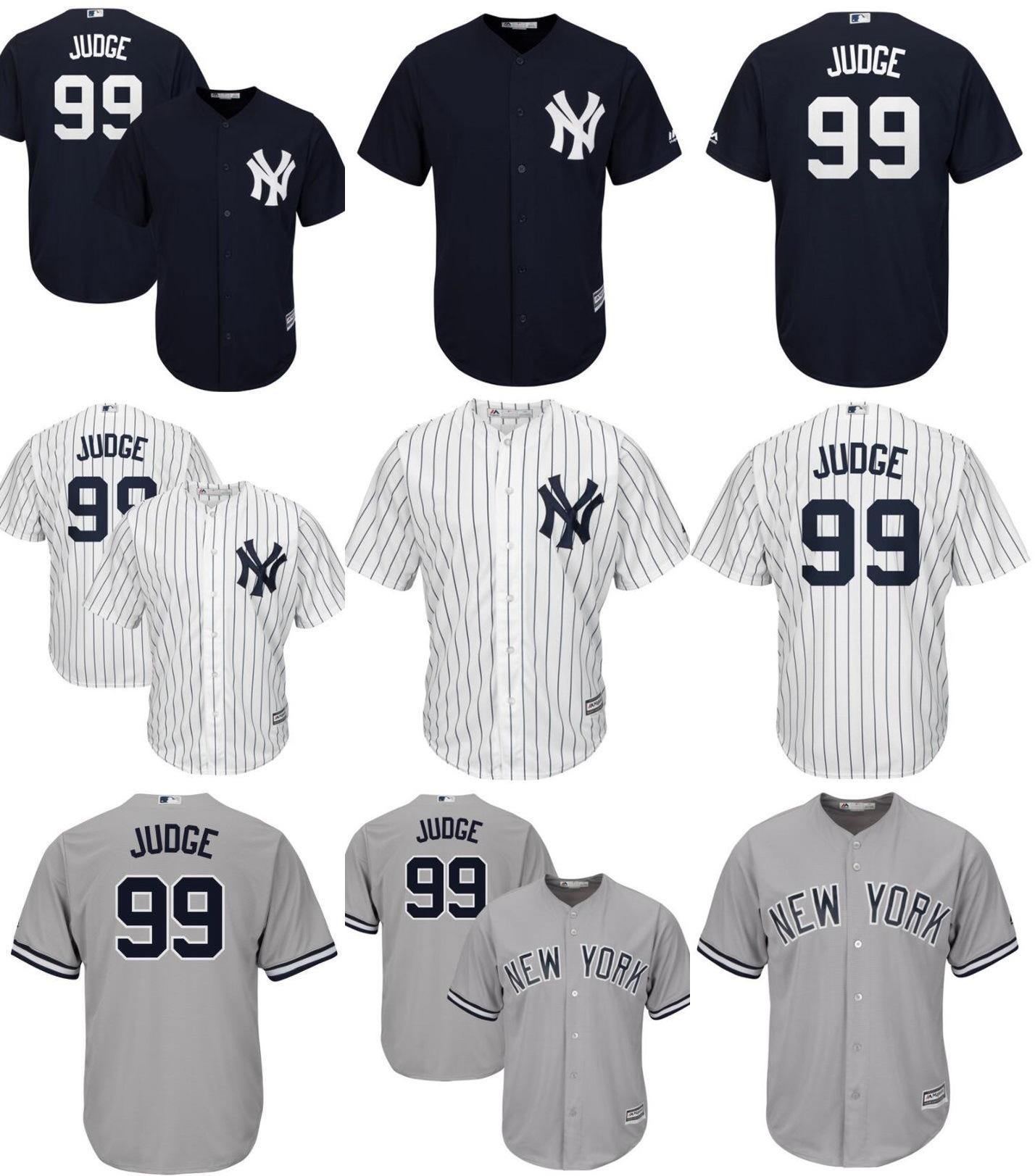 best sneakers 82689 209c5 [Hot Item] New York Yankees Aaron Judge Cool Base Player Baseball Jerseys