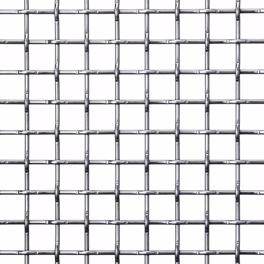 China Stainless Steel /Galvanized Crimped Sand Sieving Square Woven ...