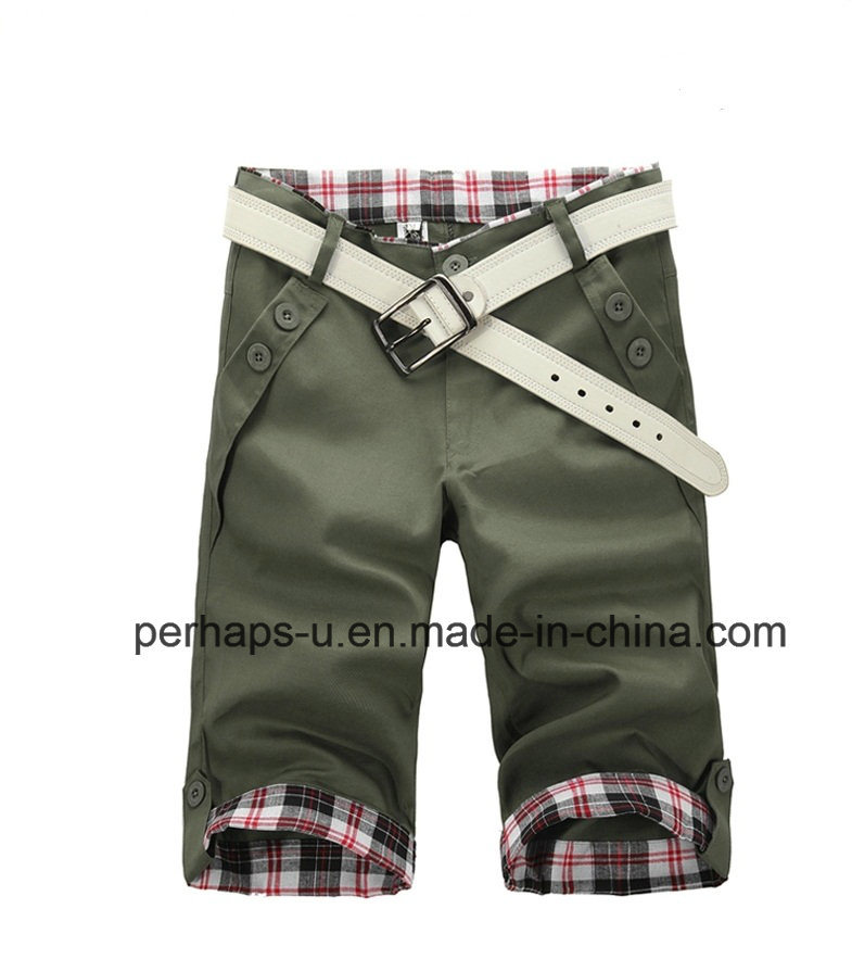 Fashion Mens Print Chinos Shorts pictures & photos