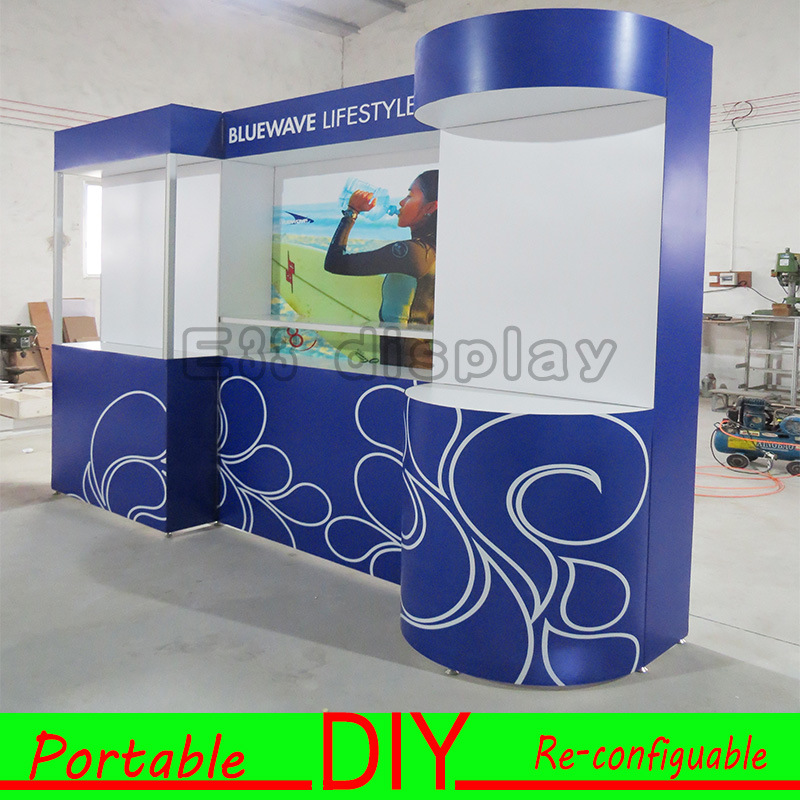 Portable Exhibition Display : China modular versatile portable exhibition stand for trade show