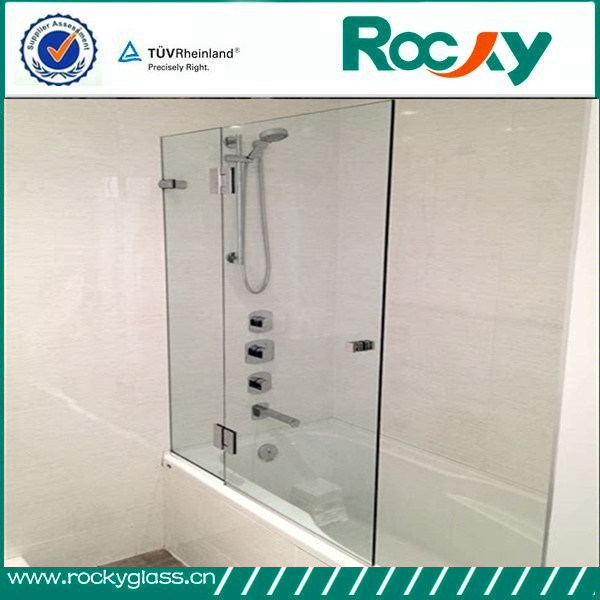China Hot Sale 8mm 10mm 12mm Bathroom Glass Door Design China
