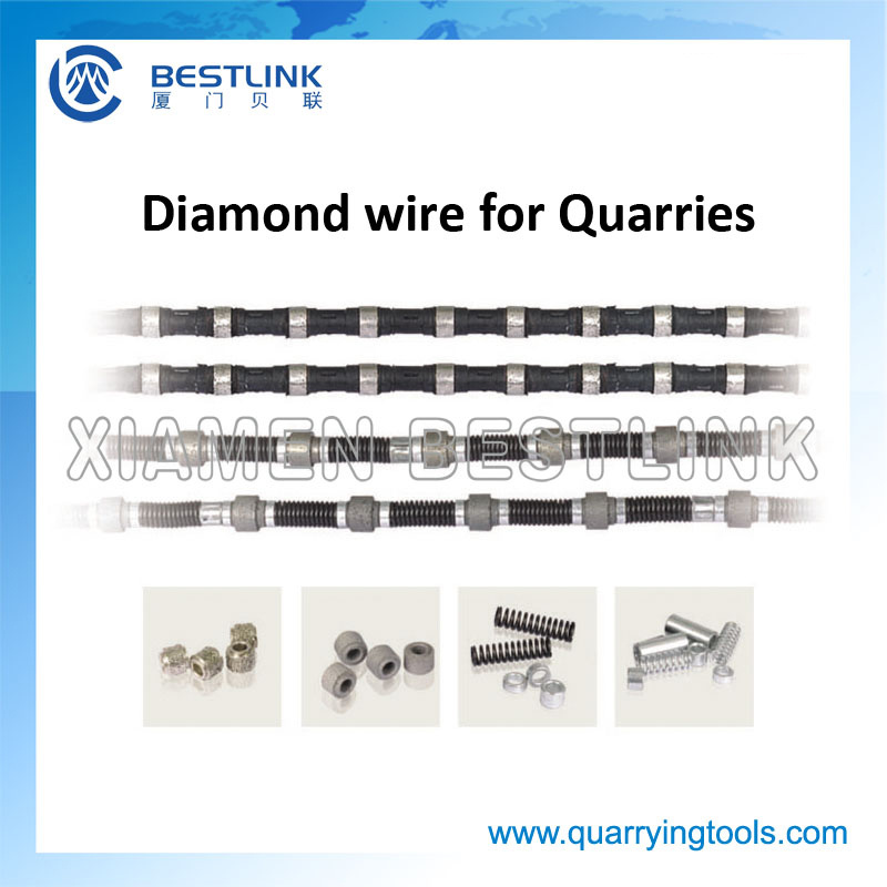 China Quarry Multi-Wire Saw Machine Diamond Wire Rope for Cutting ...