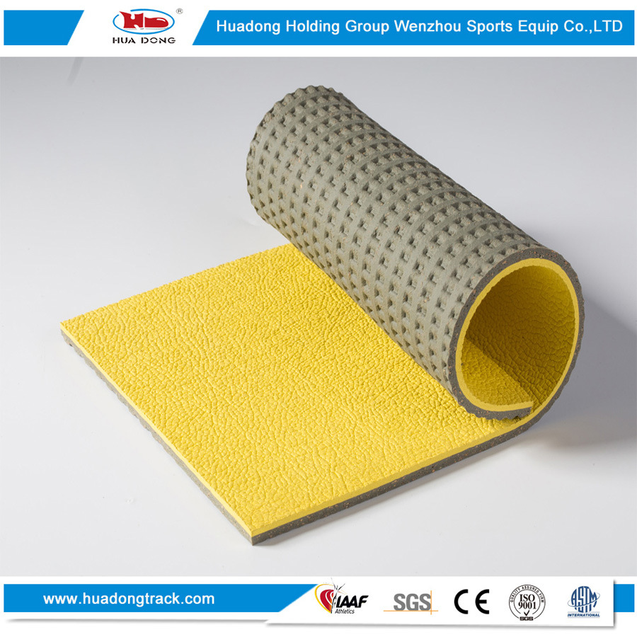 Indoor Outdoor Stadium Surface Rubber Sports Flooring Mat pictures & photos